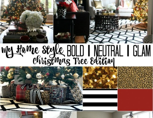 This is our Bliss My Home Style Christmas Tree Edition - bold neutral glam - thisisourbliss.com
