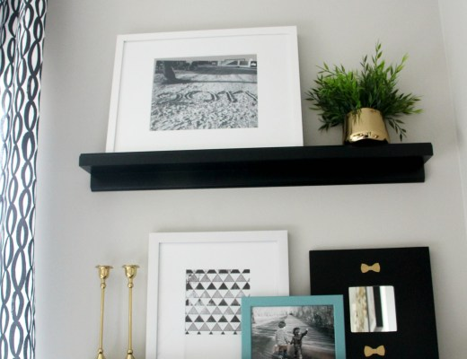 Inspired by DIY | Anthropologie inspired frame | butterfly frame | This is our Bliss