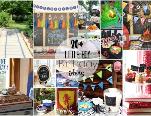 20+ cute and creative little boy birthday party theme ideas | this is our Bliss