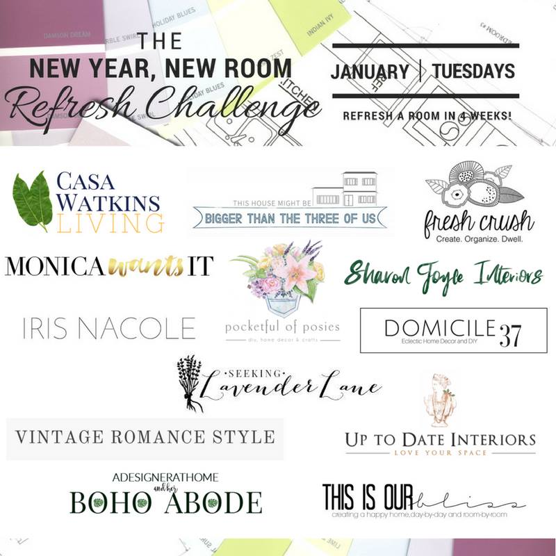 New Year New Room Refresh Challenge 2017 Participants | This is our Bliss