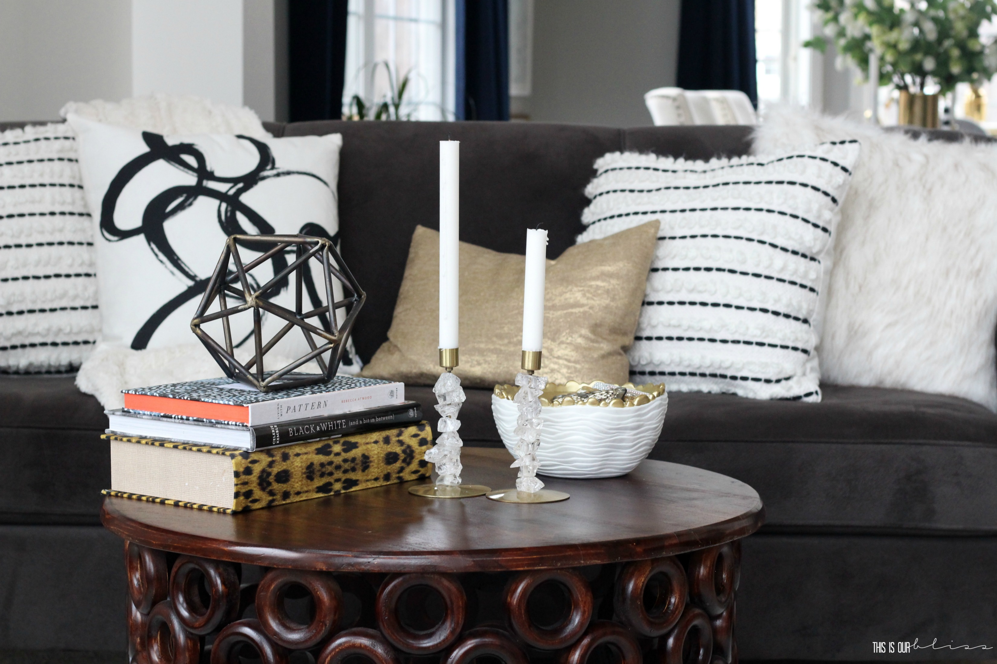 How To Style A Sofa 2 Different Ways This Is Our Bliss