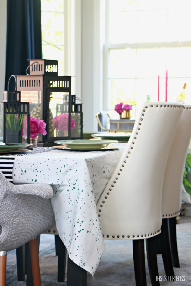 Chic & Bold Eclectic Summer Home Tour 2017 | www.thisisourbliss.com