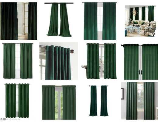 dark green curtains archives this is
