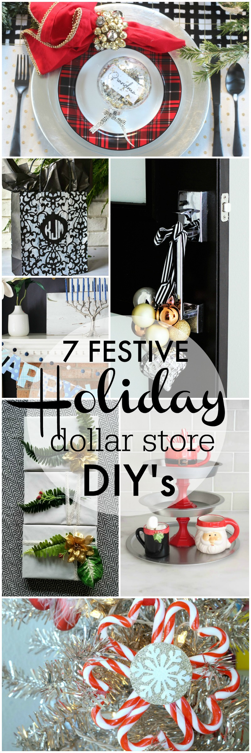 7 Holiday Dollar Store DIY Projects - My Dollar Store DIY Series