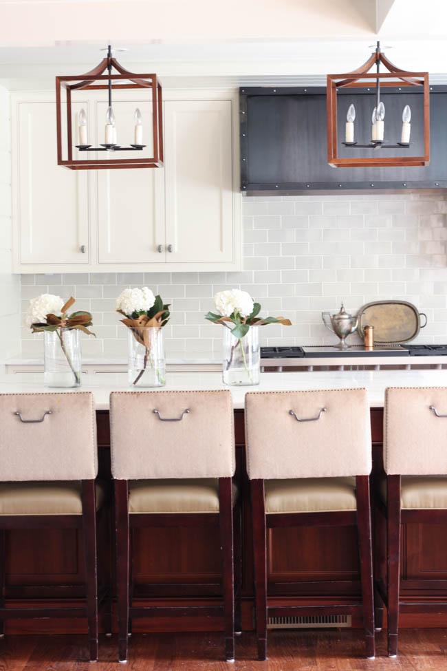 Gorgeous white kitchen in Atlanta GA