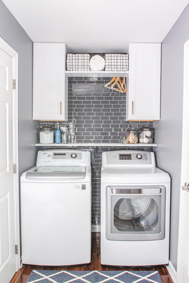 Inspiring Laundry Room Ideas That Will Make You Want to ... on Small Laundry Ideas  id=65508