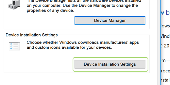 device install