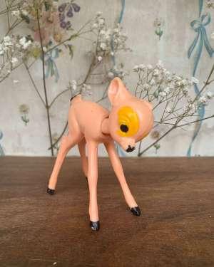 Jouet bambi vintage.