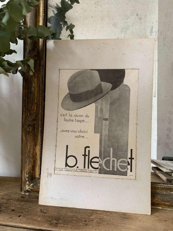 ancienne publicité vintage mode