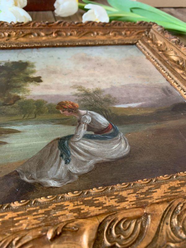 peinture ancienne 19eme