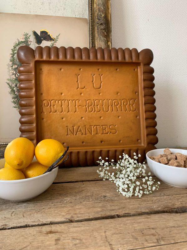 ancienne publicité lu petit beurre vintage