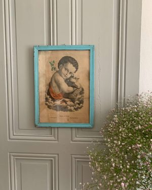 ancienne gravure saint jean-Baptiste gravure du 19eme
