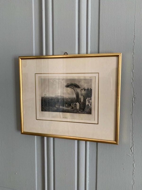 ancienne gravure de nice 19ème