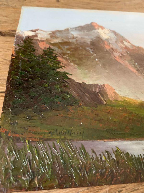 Ancien paysage de montagne astrid walford