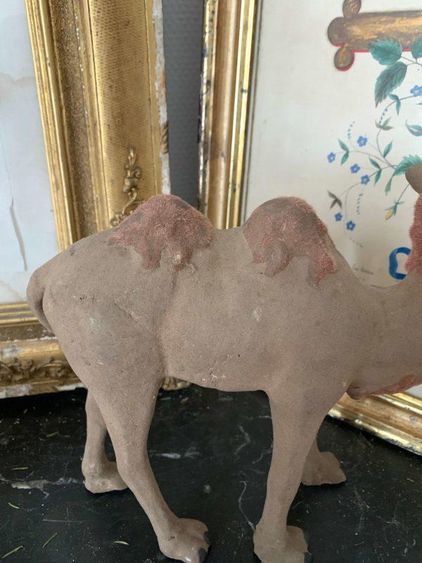 santon de devineau ancien chameau details