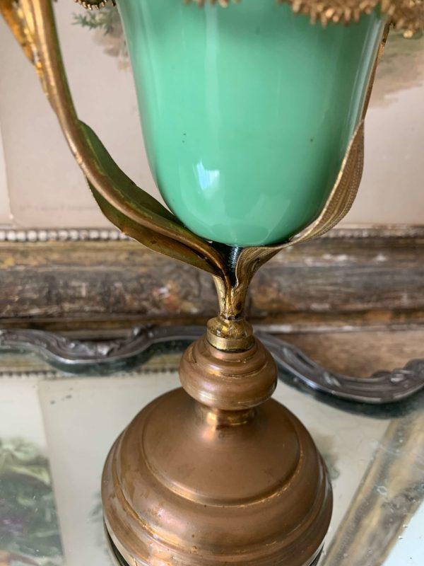 ancienne veilleuse d'église lampe de sanctuaire xixeme
