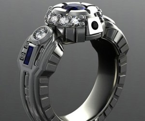 R2-D2 Engagement Ring