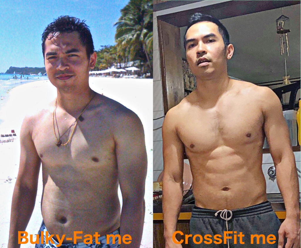 Before and after me