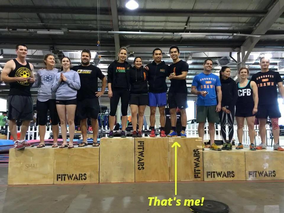 Winning CrossFit Team