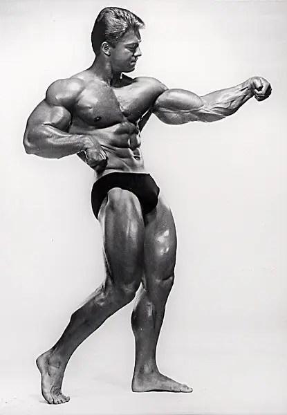 Bodybuilder Larry Scott