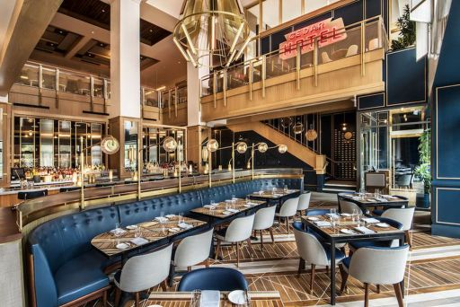 Somerest in the Viceroy Hotel in Chicago -- a great spot for brunch from the starter guide to eating in Chicago.
