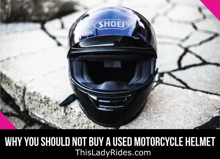 Why You Should Not Buy A Used Motorcycle Helmet