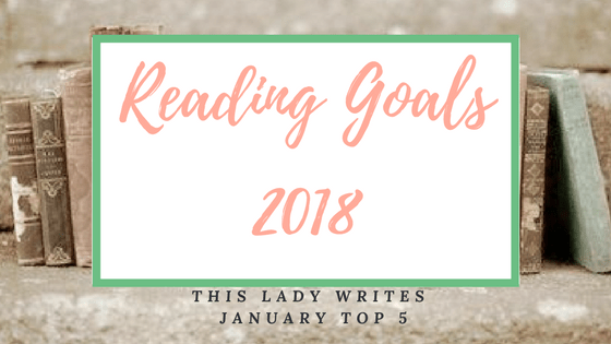 Reading goals for 2018!