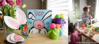 Baby Book Club- Piggy Bunny {this lemon yogurt}
