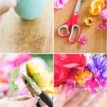 Rock It Yourself Artificial Flower Cake Topper This Little Street This Little Street