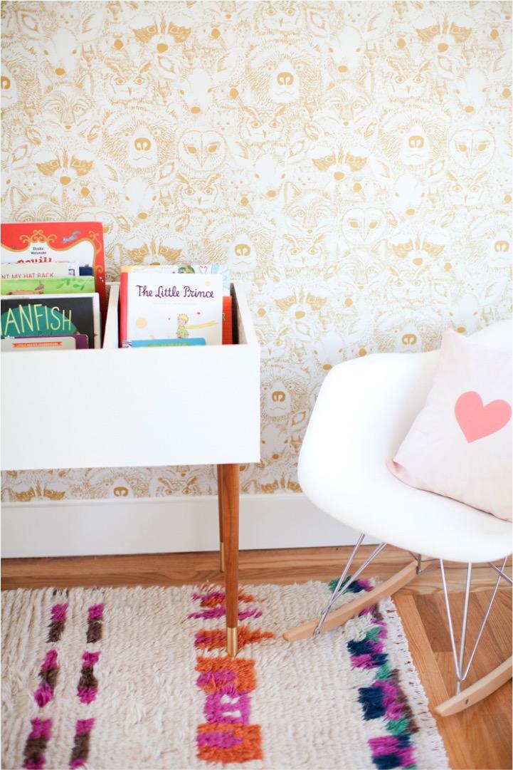 DIY book bin for kids