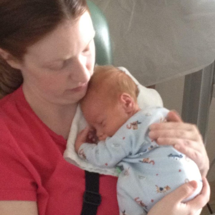 Heart Stories - Kristy Miller - Kristy with her baby son