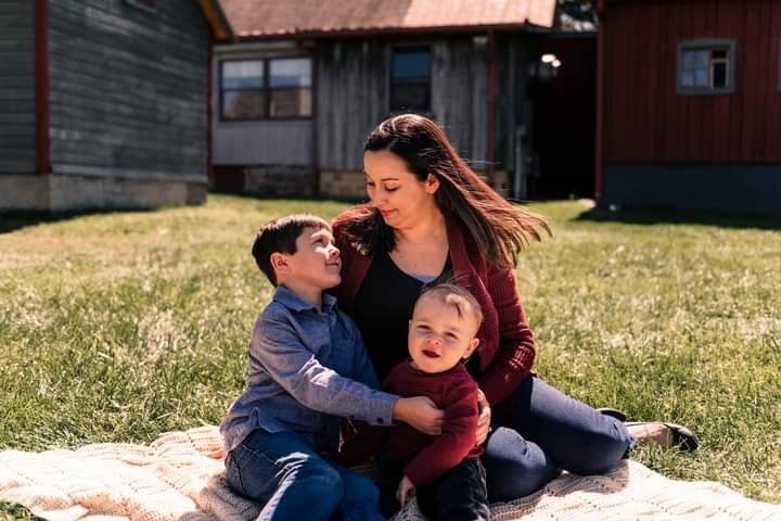 Heart Stories - Jen Woleslagle-Stone's PPCM Story - Jen and her children