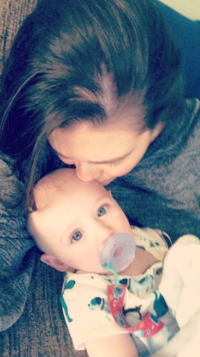 Heart Stories - Nicolette Somers - Nicolette with her son