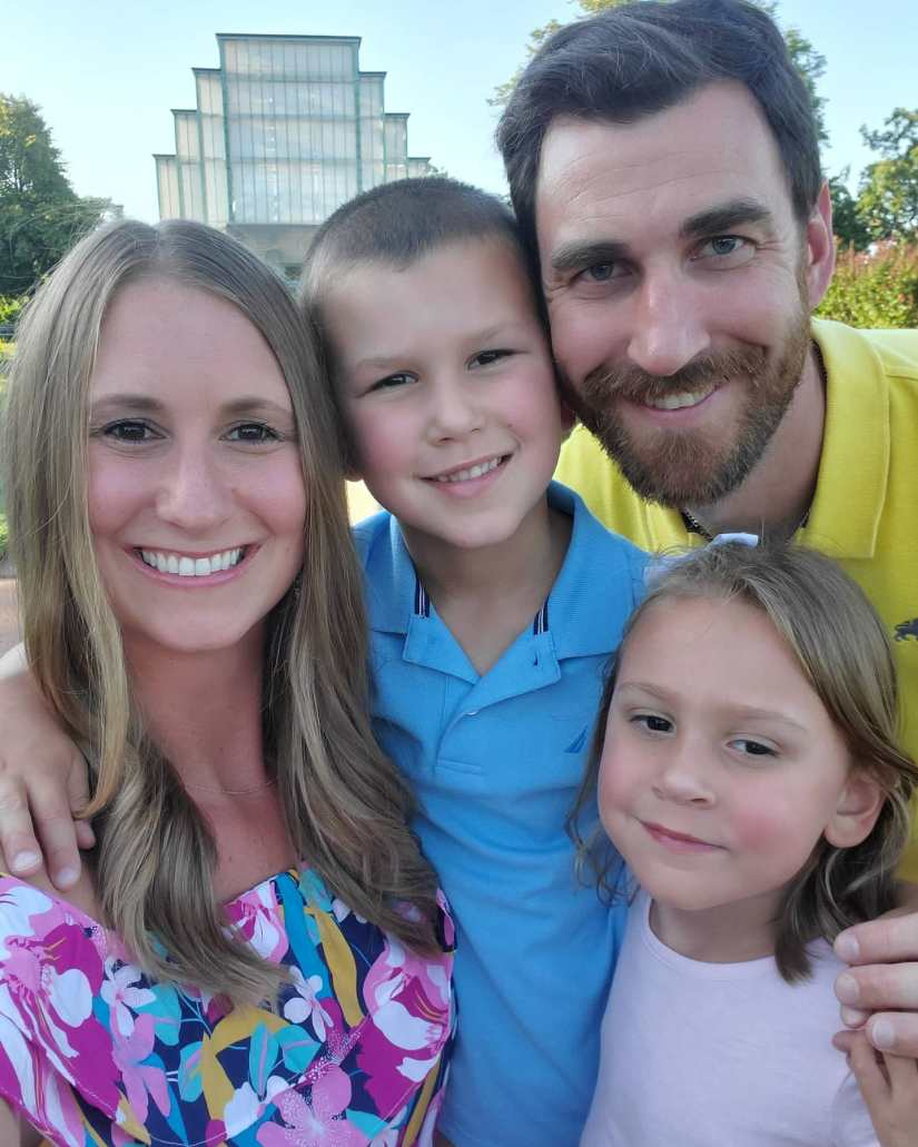 Heart Stories - Jessica Grib's PPCM Story - Jessica's family