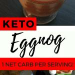 Low Carb Eggnog