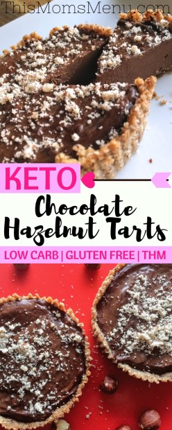 Chocolate and hazelnuts were made to go together and this Chocolate Hazelnut Tart is the perfect pairing! Share one with your sweetheart this Valentine's Day for a delicious and decadent dessert! This tart is free of added sugar and low in carbs making it a great option for those following a low carb or ketogenic diet
