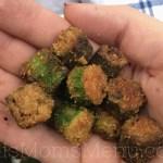 Low Carb Fried Okra
