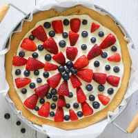 Fruit Pizza | Keto, No Sugar Added