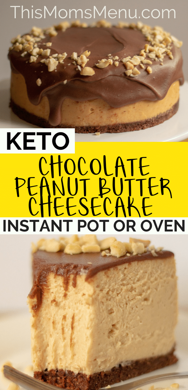 Chocolate Peanut Butter Cheesecake Keto Instant Pot