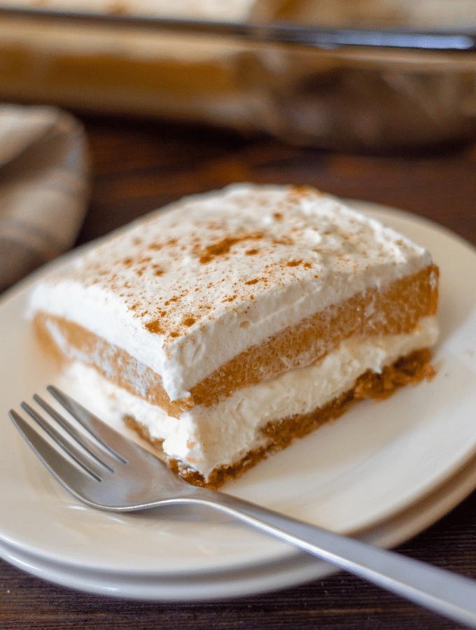 Triple Layer Pumpkin Dessert | Keto