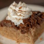 Upside Down Maple Pecan Cake | Keto, Gluten Free