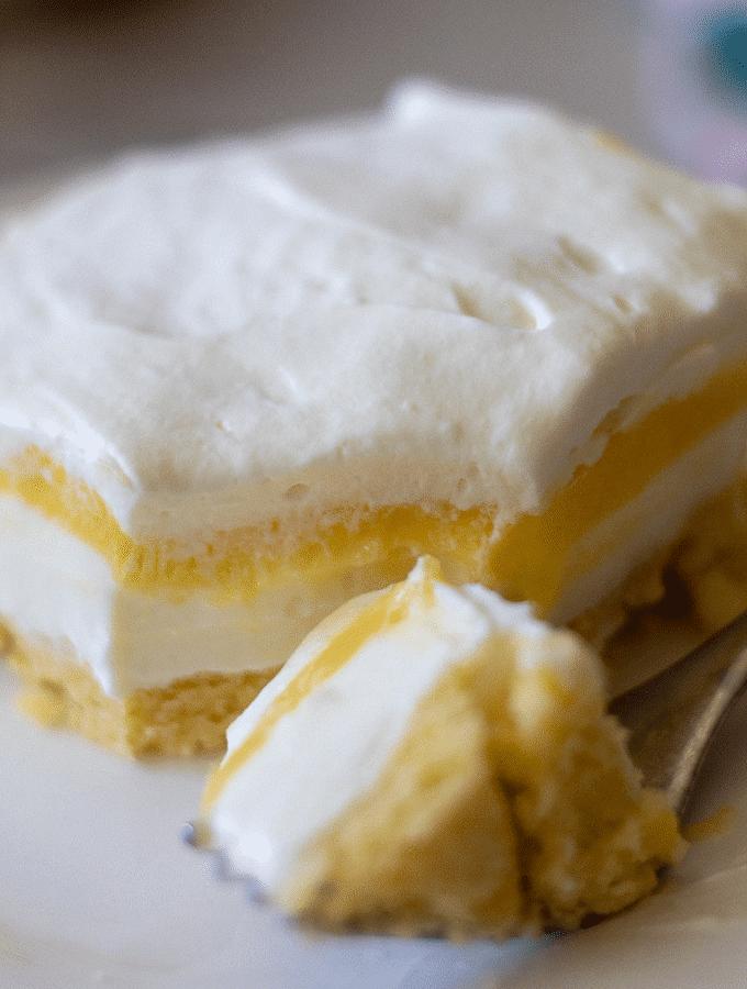 Keto Lemon Lush Dessert | Gluten Free
