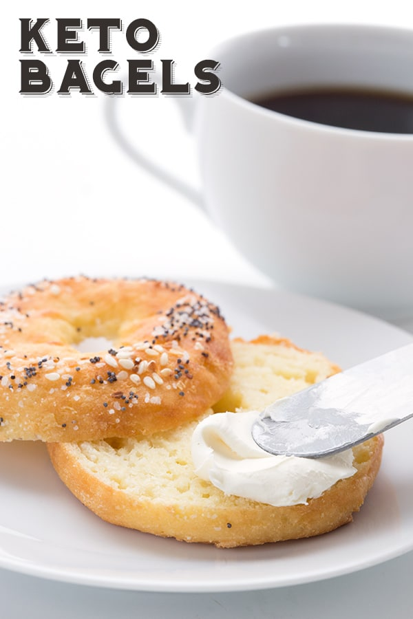 Chewy Keto Bagels