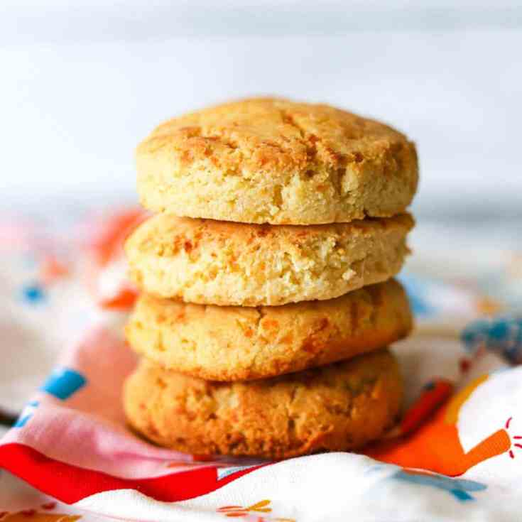 Low Carb Freezer Biscuits