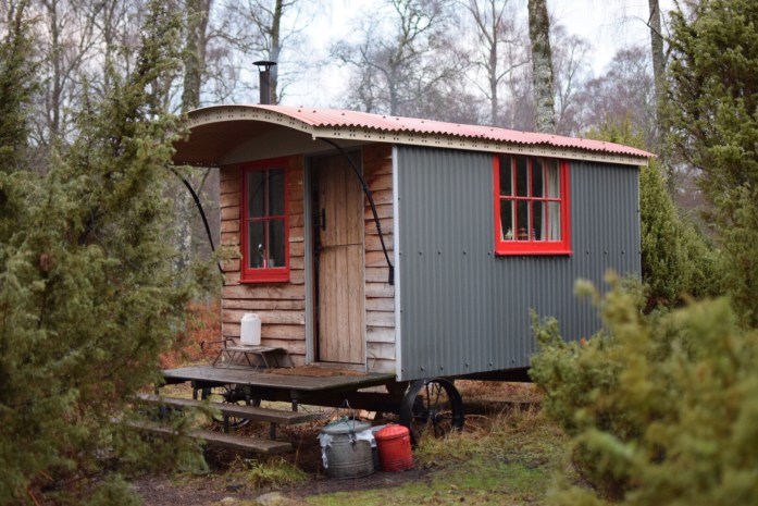 Shepherd's Hut, Inshriach Estate
