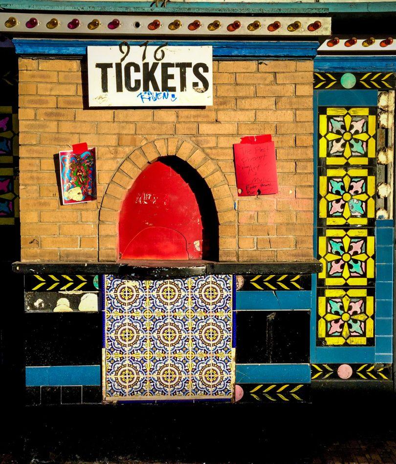 Ticket booth - Art District on Santa Fe in Denver