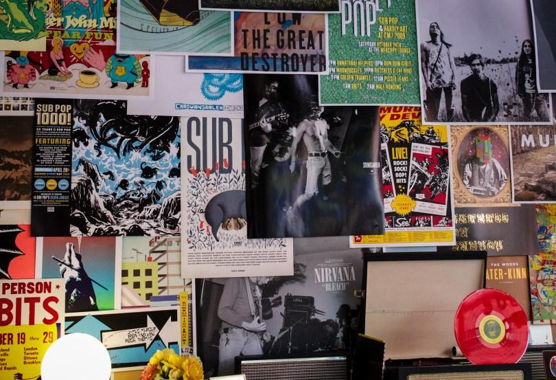 Sub Pop Mini Mart & Gallery, Georgetown, WA