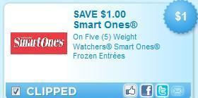 *HOT* Weight Watchers Smart Ones Coupons!
