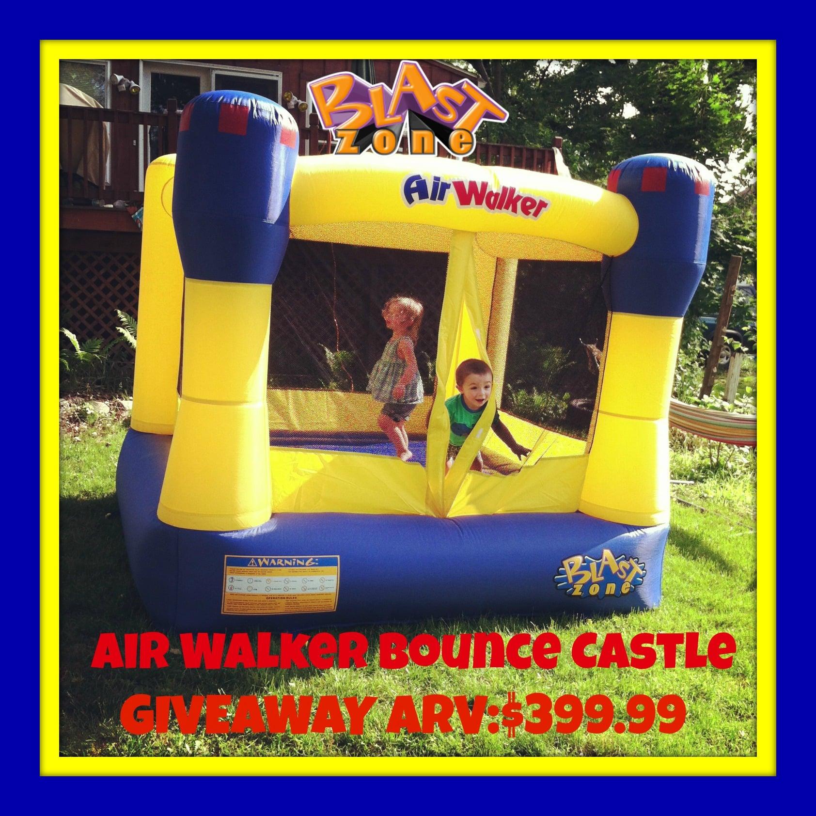 Sensational Enter To Win A Blast Zone Air Walker Bounce Castle Win Download Free Architecture Designs Scobabritishbridgeorg