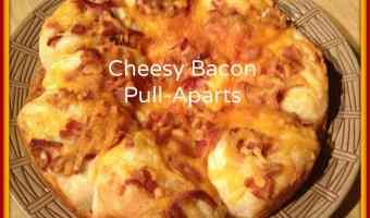 Cheesy Bacon Pull-Aparts! #Recipe #Breakfast
